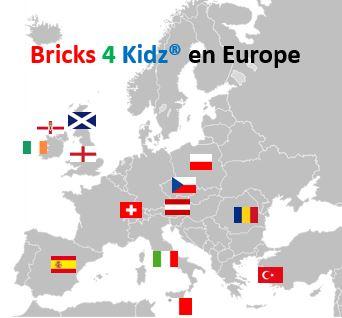Bricks 4 Kidz en Europe